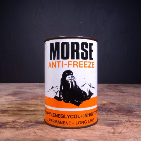 1950 Morse Anti Freeze Can