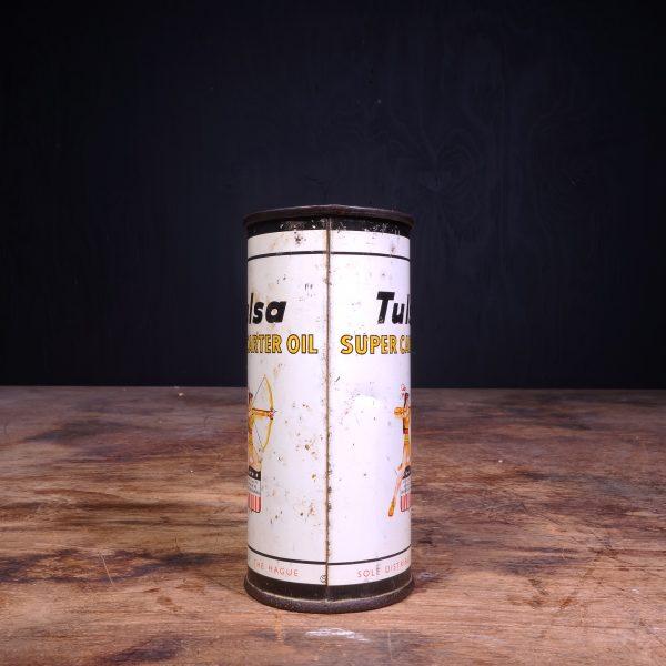 1950 Tulsa Super Carter Oil Can