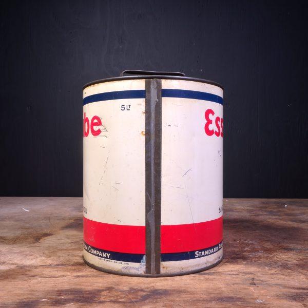 1940 Essolube Super Motor Oil Can