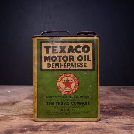 1930 Texaco Motor Oil Can