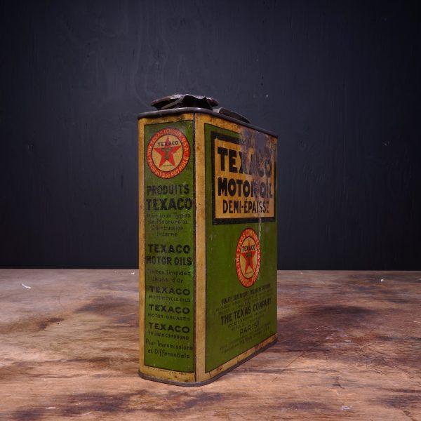 1930 Texaco Motor Oil Can