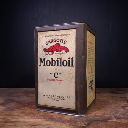 1930 Gargoyle Mobiloil C Oil Can