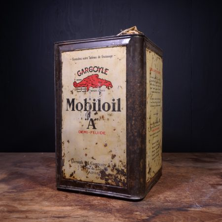 1930 Gargoyle Mobiloil A Oil Can