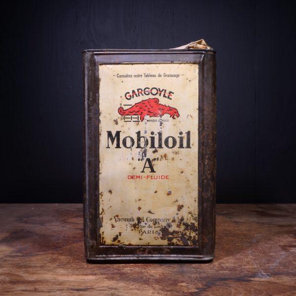 1930 Gargoyle Mobiloil A Oil Can