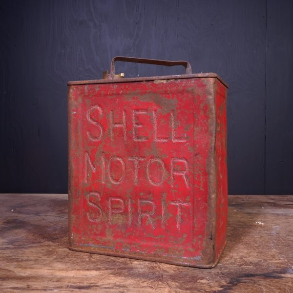 1920 Shell Motor Spirit Petrol Can