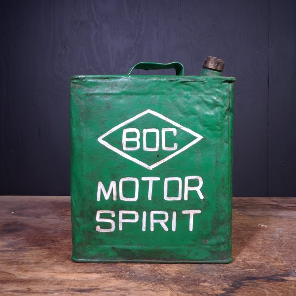 1920 BOC Motor Spirit Petrol Can