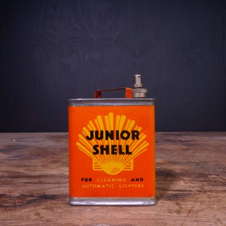 1940 Shell Junior Lighter Fluid Can