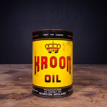 1950 Kroon Motor Oil Can