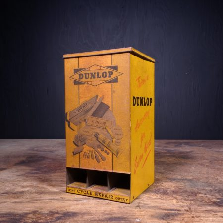 1940 Dunlop Long Cycle Repair Outfit Dispenser