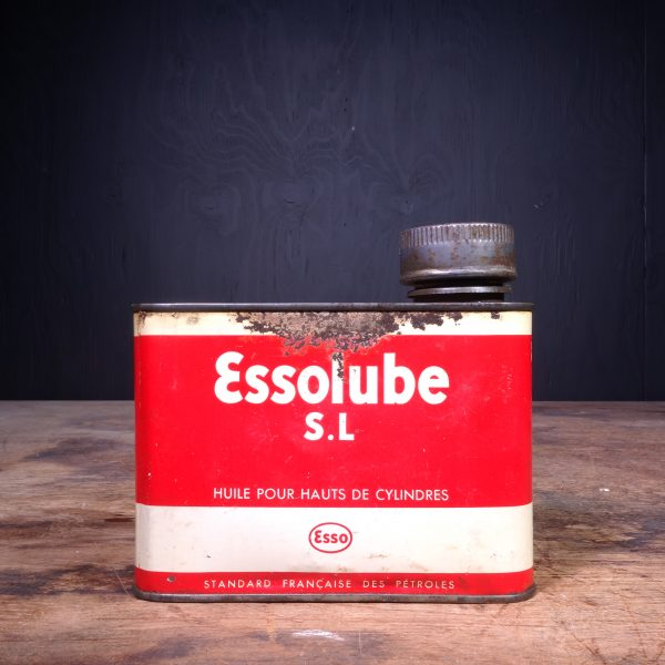 1940 Essolube SL Motor Oil Can