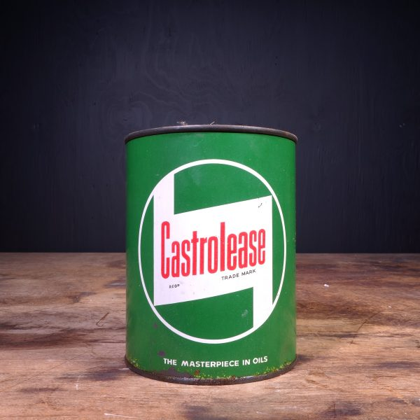 1950 Castrol Castrolease Grease Can