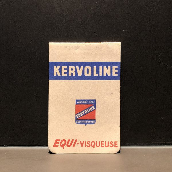 1930 Kervoline Notebook
