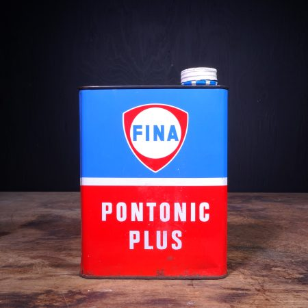 1960 Fina Pontonic Plus Oil Can