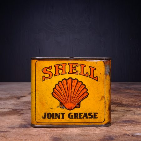 1930 Shell Joint Grease Can