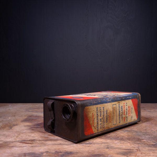 1950 Van Daalens Motor Oil Can
