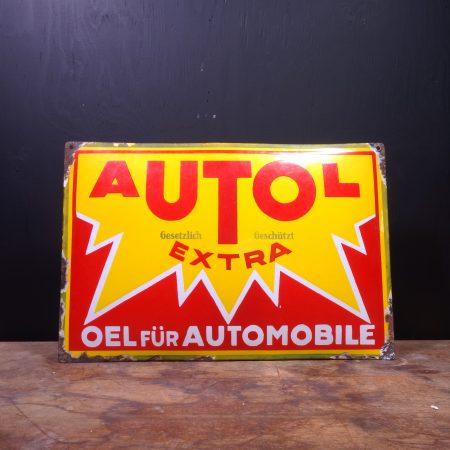 1950 Autol Extra Sign