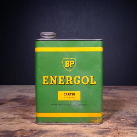 1950 BP Energol Carter Oil Can