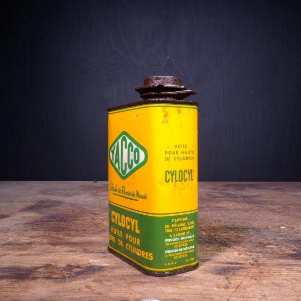 1950 Yacco Cylocyl Oil Can