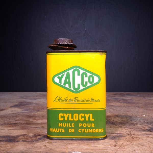 1950 Yacco Cylocyl Oil Can