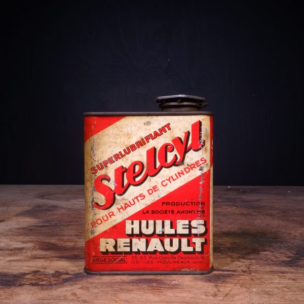 1950 Renault Stelcyl Oil Can