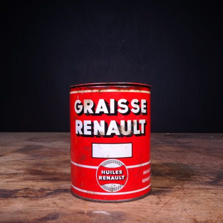 1950 Renault Graisse Vet Grease Can