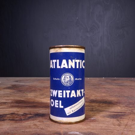 1950 Atlantic Zweitakt Oel Oil Can