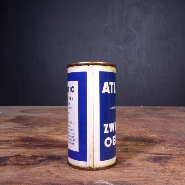 1950 Atlantic Zweitakt Oel Oil Can