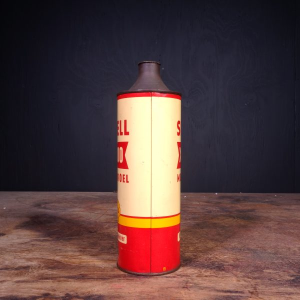 1950 Shell X-100 Motor Oel Oil Can