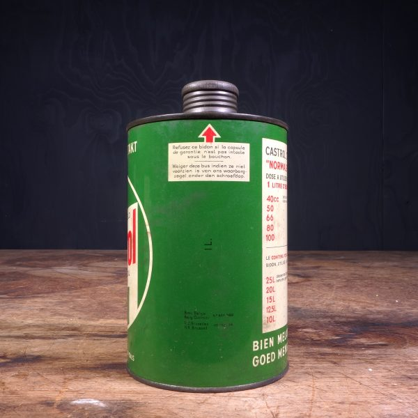 1950 Castrol Deux Temps 2 Takt Oil Can