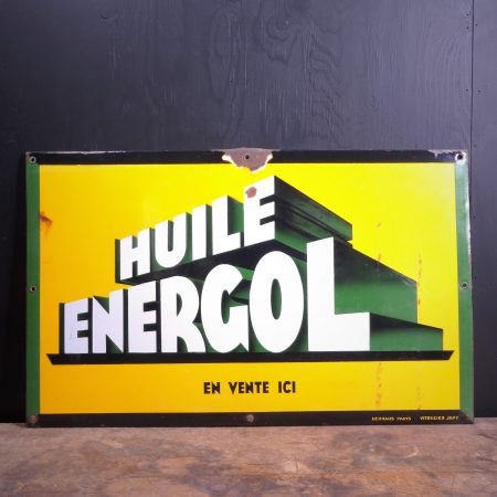 1950 BP Energol Enamel Sign