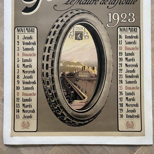 1923 Goodrich Affiche Poster
