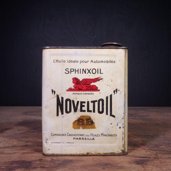 1930 Sphinxoil Noveltoil BB Motor Oil Can