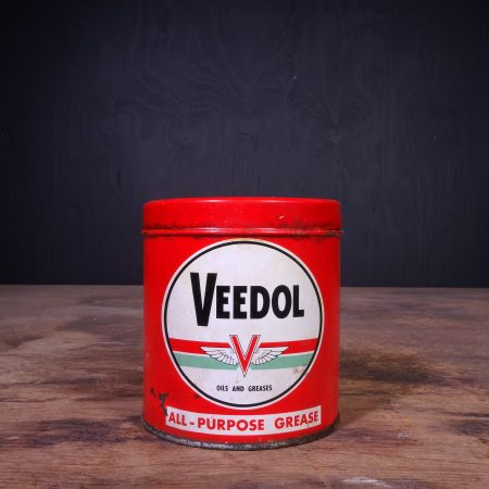 1950 Veedol Grease Can