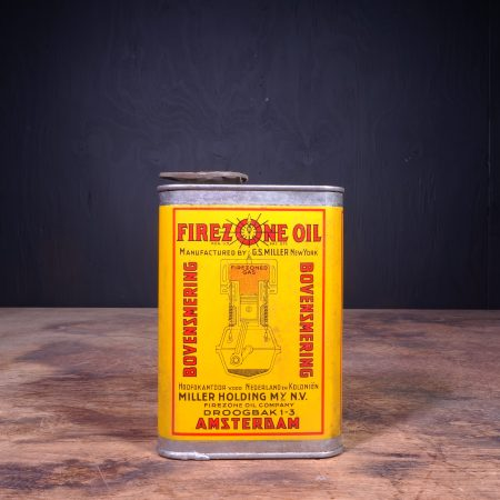 1940 Firezone Oil Bovensmering Oil Can