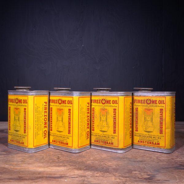 1940 Firezone Oil Bovensmering Oil Can
