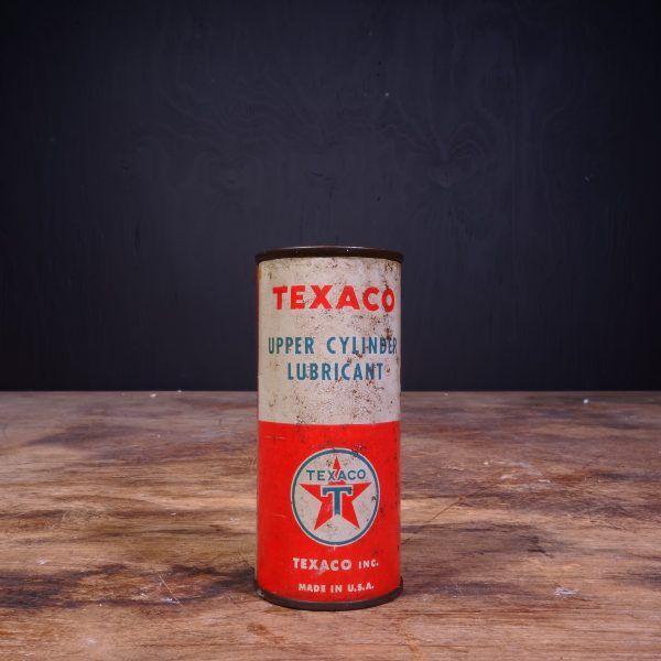 1940 Texaco Upper Cylinder Lubricant Oil Can