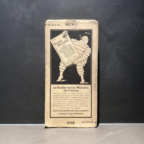 1920 Michelin Road Map #17