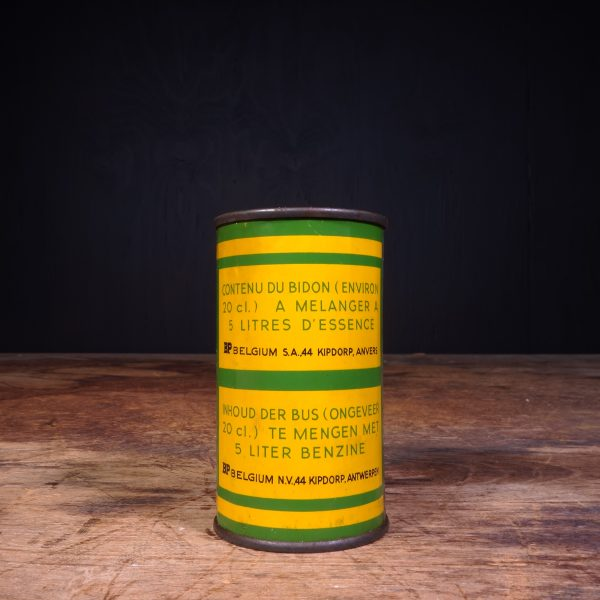 1950 BP Energol Deux Temps 2 Takt Oil Can