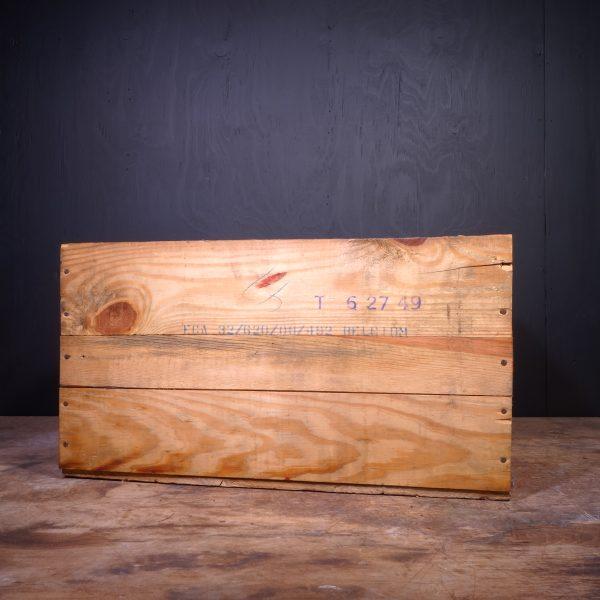 1949 Mobiloil AF Oil Can Crate