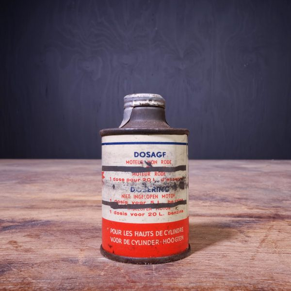 1950 Mobiloil Mobilmix Oil Can