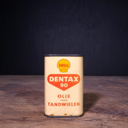 1950 Shell Dentax 90 Oil Can