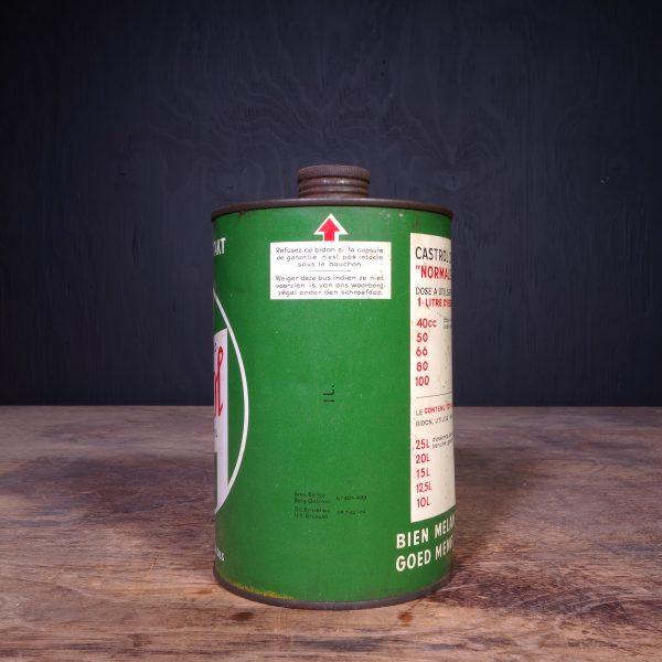 1940 Castrol Deux Temps 2 Takt Oil Can