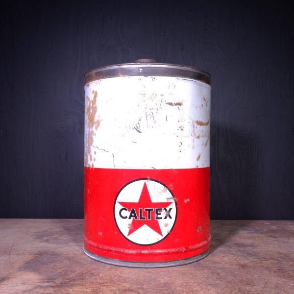 1950 Caltex Petroleum Can