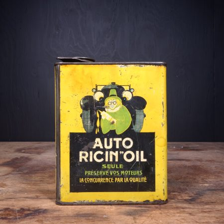 1930 Auto Ricin Oil Motor Oil Can