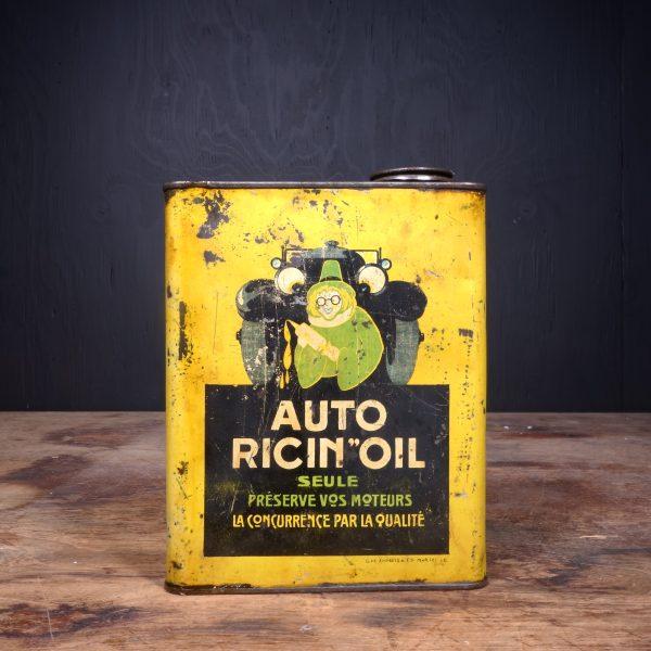 1930 Auto Ricin Oil Motor Oil Can