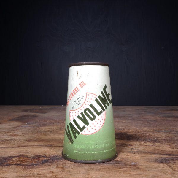 1940 Valvoline Motor Oil Can